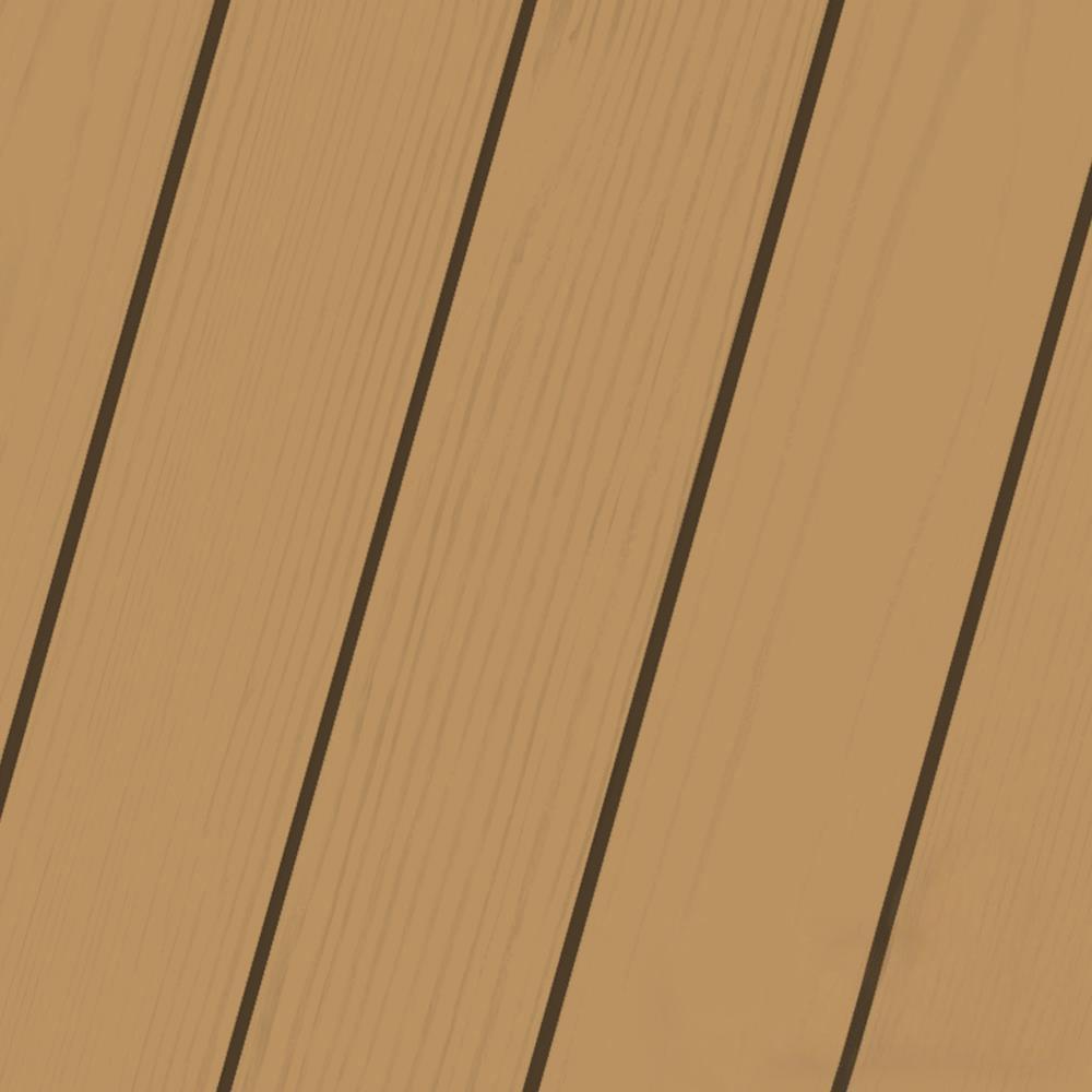 Elite 1 gal. Rustic Cedar Semi-Transparent Advanced Exterior Stain and Sealant in One Low VOC