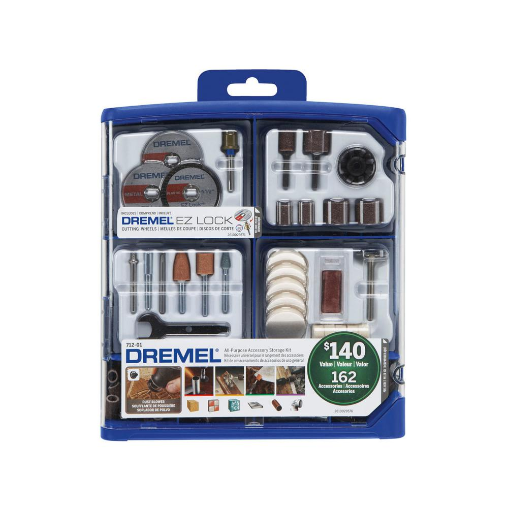 dremel rotary tool accessory kit for cutting sanding polishing grinding and cleaning 162. Black Bedroom Furniture Sets. Home Design Ideas