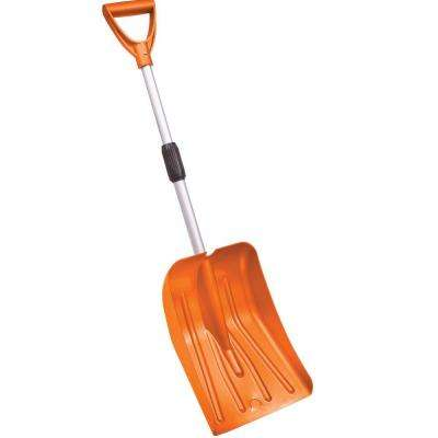 Bigfoot Series 36 in. Telescoping Car Trunk Shovel with Aluminum Handle