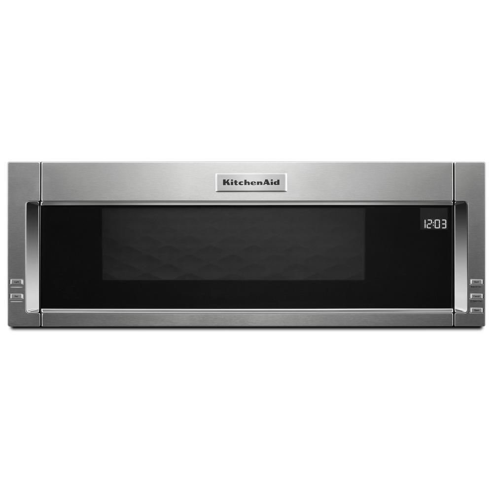 1 1 Cu Ft Over The Range Low Profile Microwave Hood Combination In Stainless Steel