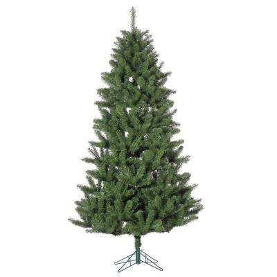 7.5 ft. Un-Lit Columbia Pine Artificial Christmas Tree