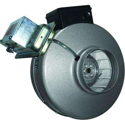 4 in. Powerfan Inline Duct Fan with Pressure Switch