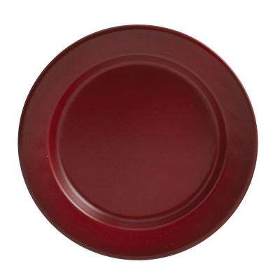 Linville Red Enamel Salad Plate (Set of 4)