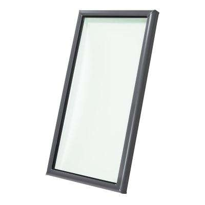 22-1/2 in. x 46-1/2 in. Fixed Curb-Mount Skylight with Impact Low-E3 Glass