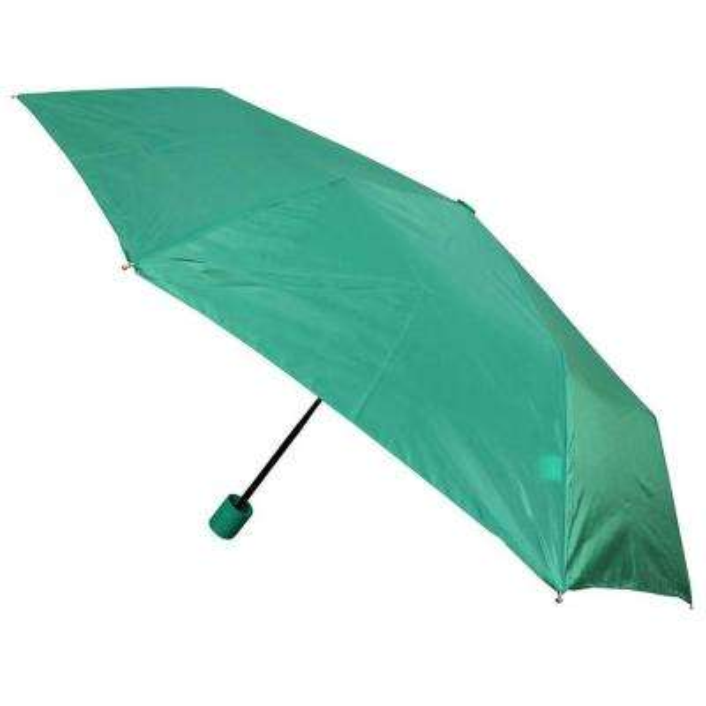 Kingstate 42 in. Arc Canopy Mini Manual Umbrella, Green