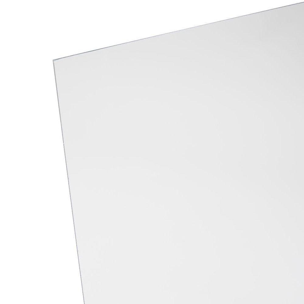 OPTIX 30 in. x 36 in. x .220 in. Acrylic Sheet