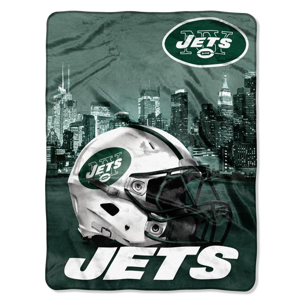 3eabafaf Jets Heritage Silk Touch Throw