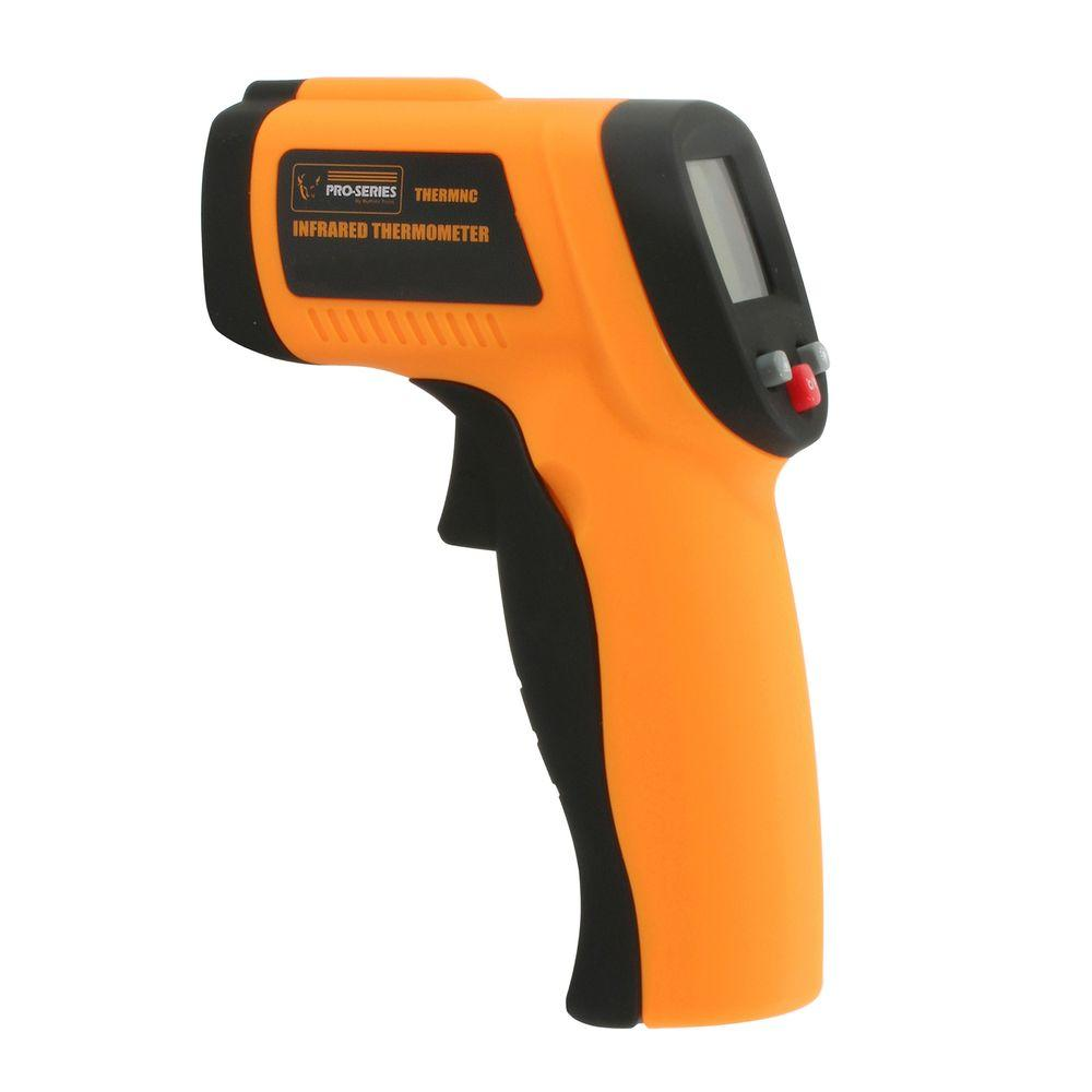 Non Contact Infrared Thermometer with Laser Sighting, 12:1 Spot