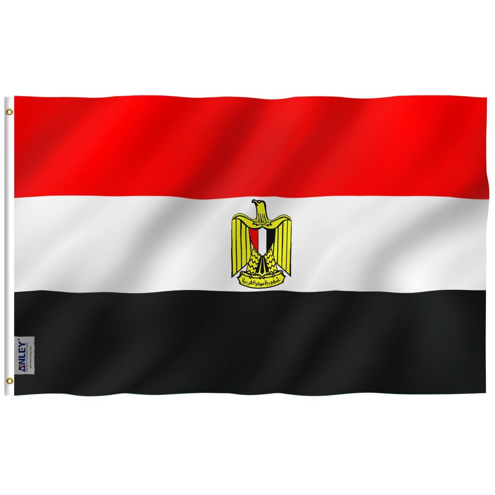 Anley Fly Breeze 3 Ft X 5 Ft Polyester Egypt Flag 2