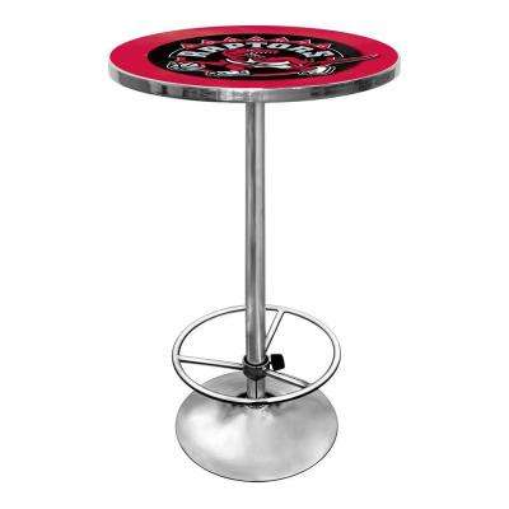 NBA Toronto Raptors Chrome Pub/Bar Table