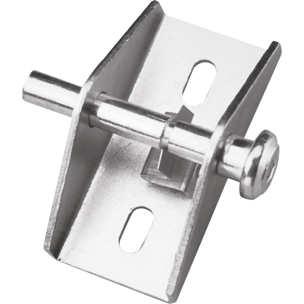 Zinc Push/Pull Sliding Patio Door Lock