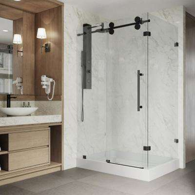Rectangle Shower Doors Showers The Home Depot