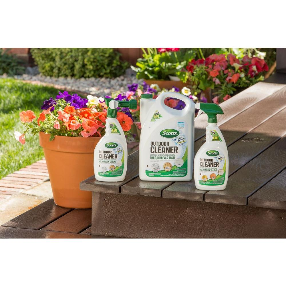 Scotts Outdoor Cleaner 1 Gal Fast Foaming Cleaning Product