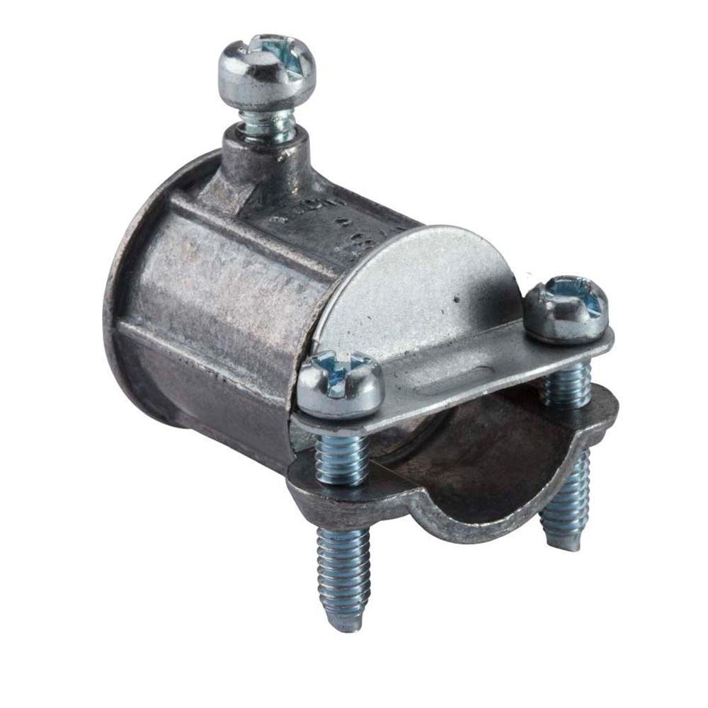 Halex 1 2 In Electrical Metallic Tube EMT Combination Coupling