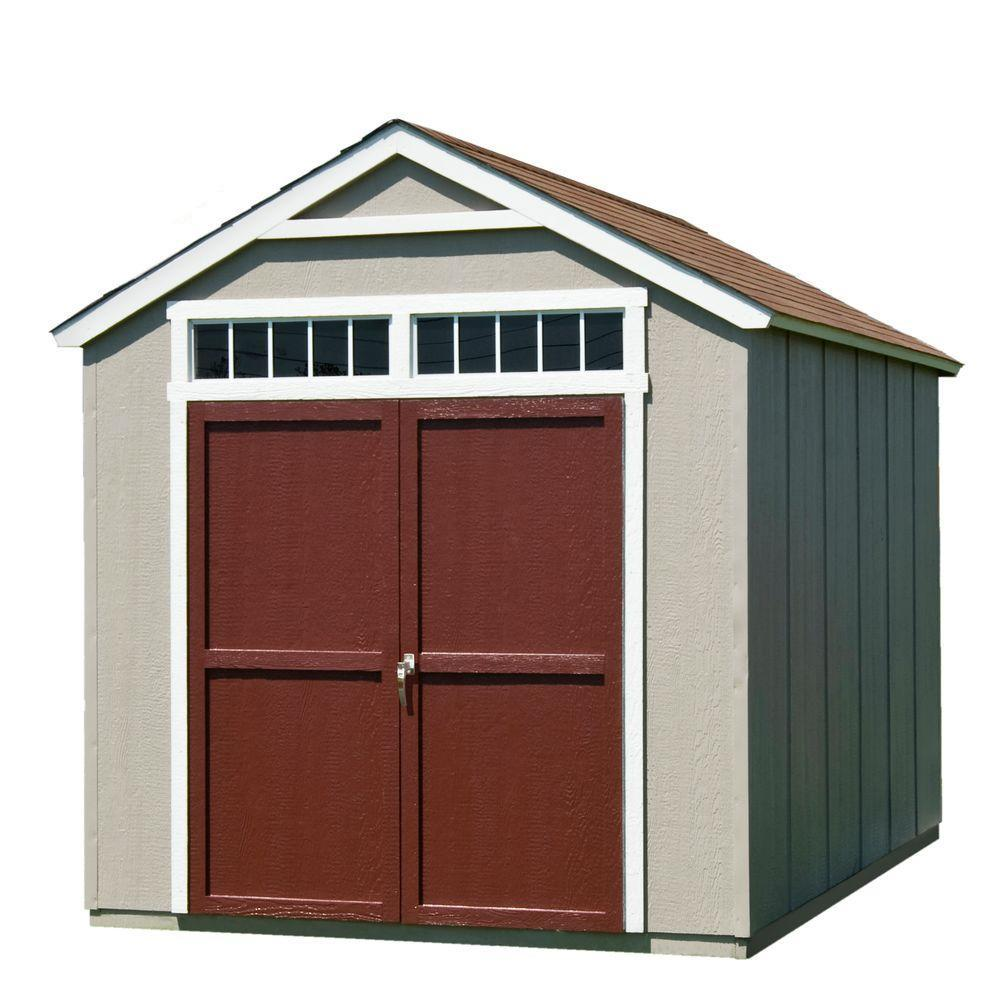 garage door for shedLoft  Wood Sheds  Sheds  The Home Depot