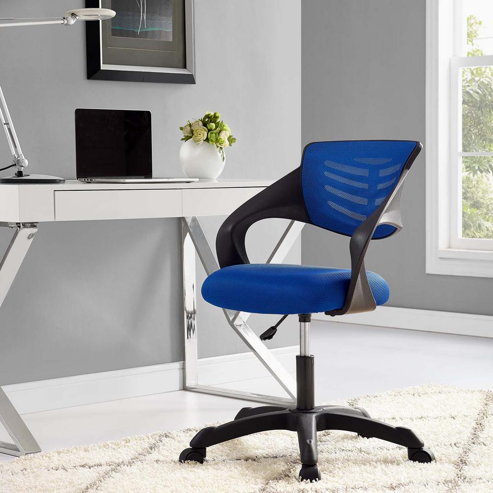 MODWAY Thrive Mesh Office Chair in Blue EEI-3041-BLU