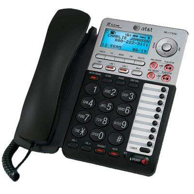 2-Line Speakerphone with Caller ID and Digital Answering System