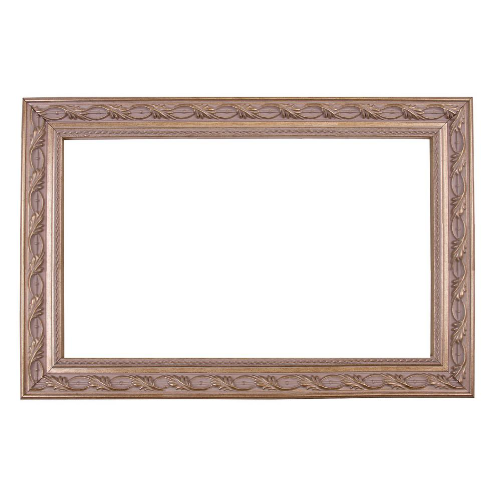 Mirrorchic Le Flore 72 In X 42 In Mirror Frame Kit In