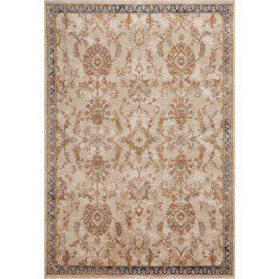 Manor Ivory Morrison 9 ft. x 12 ft. Traditional Area Rug