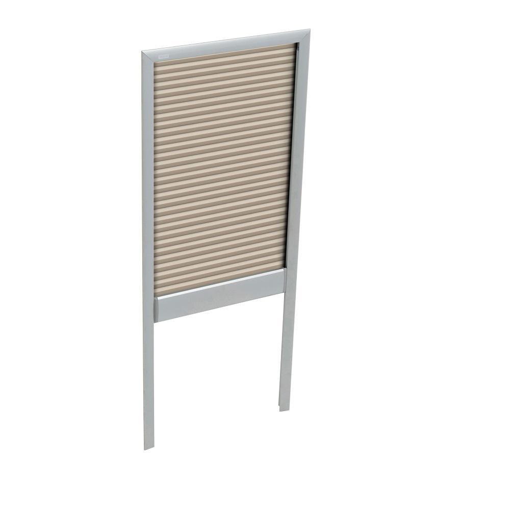 Manual Room Darkening Beige Skylight Blinds for FS M04 Models