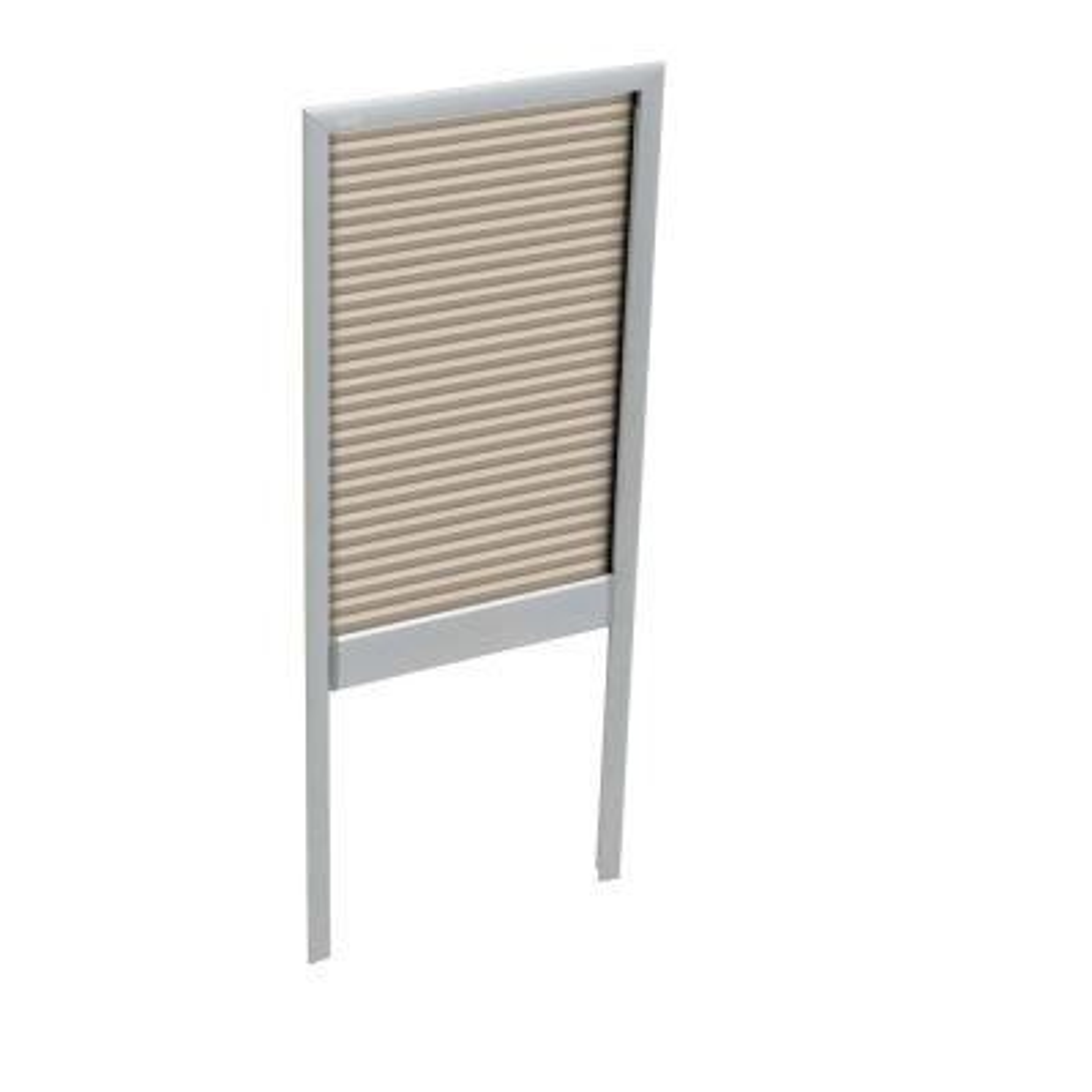Manual Room Darkening Beige Skylight Blinds for FS M08 Models