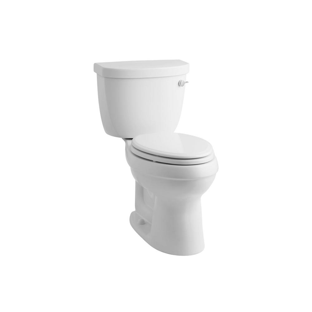 Cimarron 2-piece 1.6 GPF Single Flush Elongated Toilet with AquaPiston Flushing