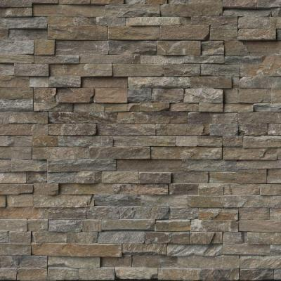 Canyon Creek Ledger Panel 6 in. x 24 in. Natural Quartzite Wall Tile (10 cases / 40 sq. ft. / pallet)
