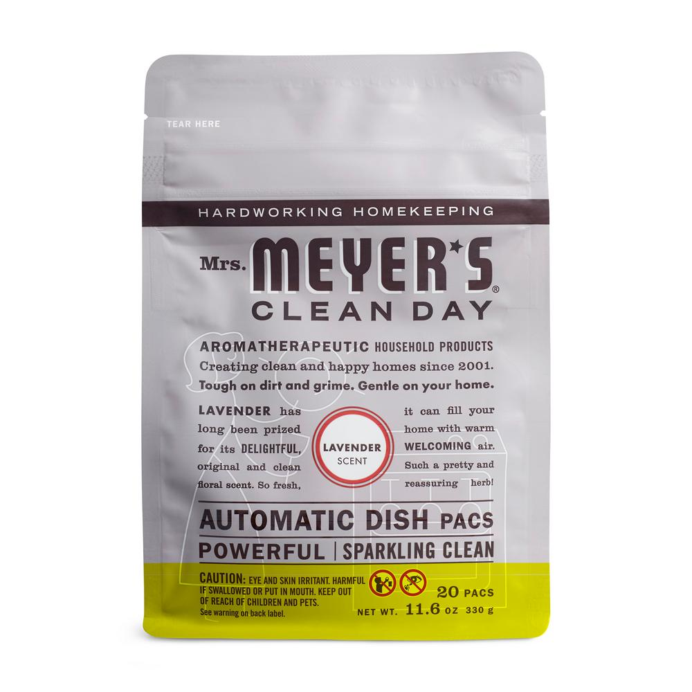 Mrs. Meyer's Clean Day Lavender Automatic Dishwasher Pacs