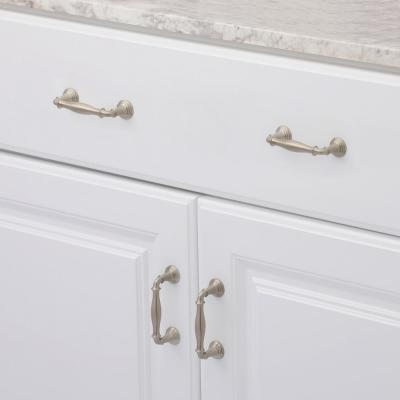 Devonshire 3 in. Vibrant Brushed Nickel Drawer Pull