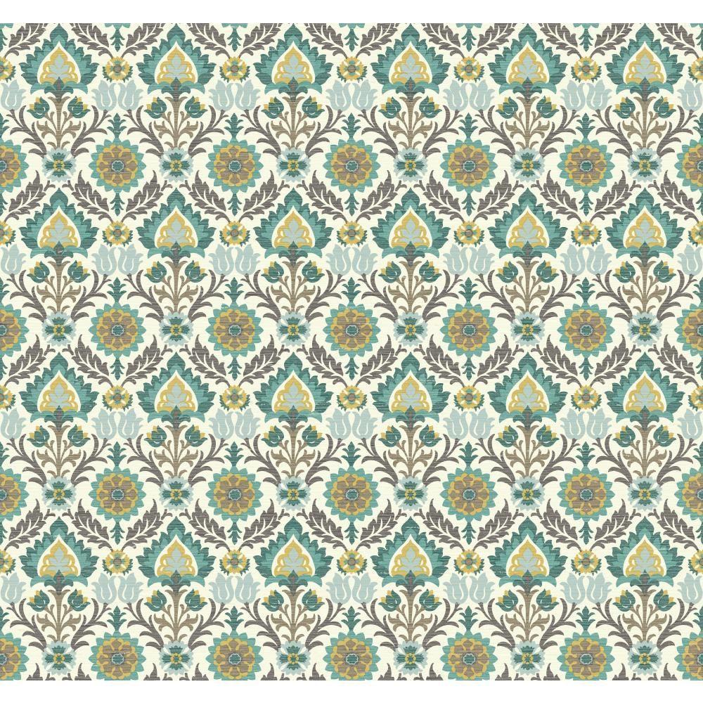 Waverly Small Prints Santa Maria Wallpaper