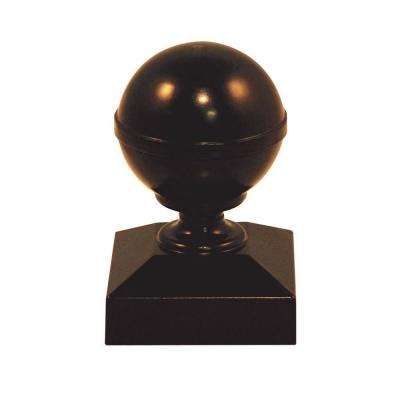 Bronze Aluminum Ball Fence Post Cap