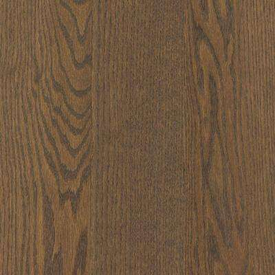Take Home Sample - Arlington Dark Tuscan Oak Solid Hardwood Flooring - 5 in. x 7 in.