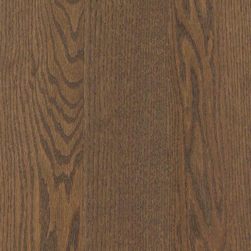 Mohawk Take Home Sample Arlington Dark Tuscan Oak Solid Hardwood Flooring 5 In