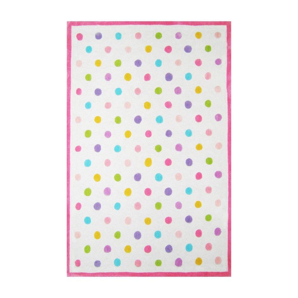 G.A. Gertmenian & Sons Dot Candy Multi 2 ft. 6 in. x 4 ft. Area Rug-DISCONTINUED