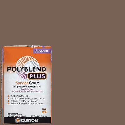 Polyblend Plus #52 Tobacco Brown 25 lb. Sanded Grout