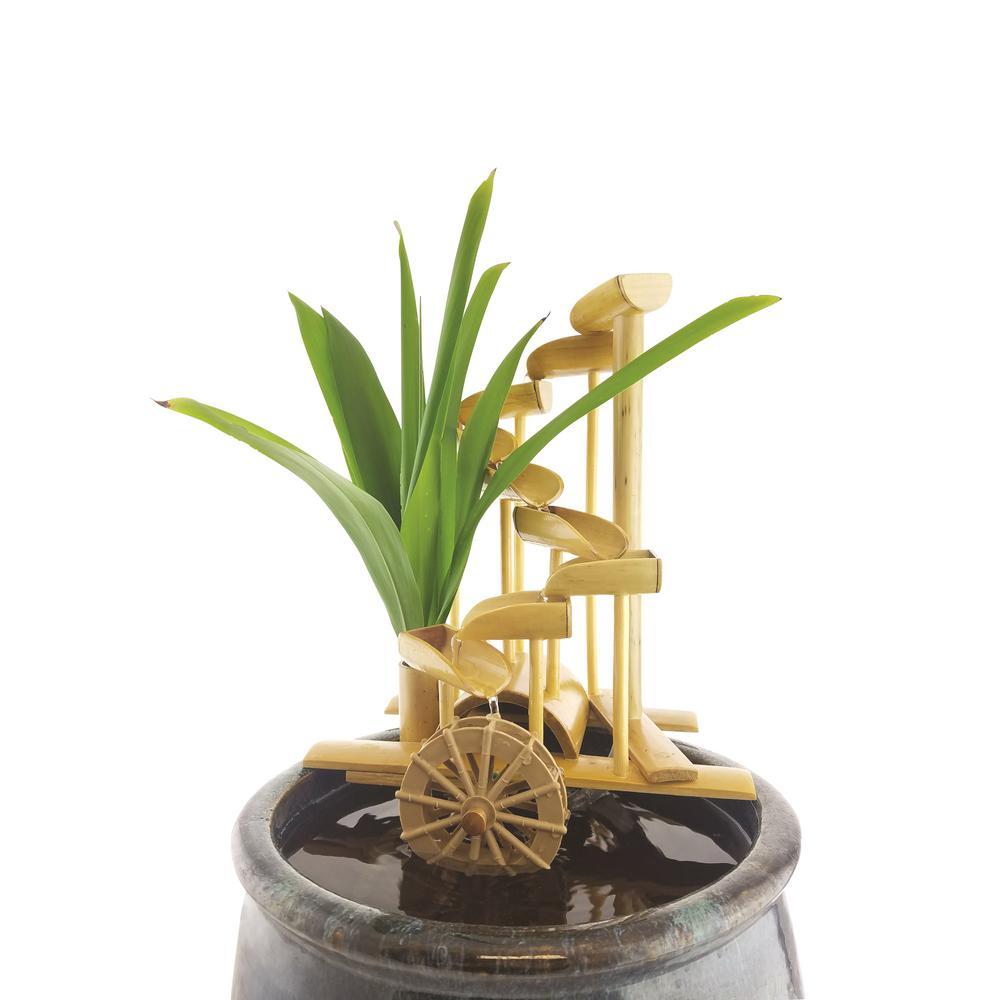 Lifegard Aquatics 12 inch Bamboo Money Fountain-Complete with Pump and Tubing by Lifegard Aquatics