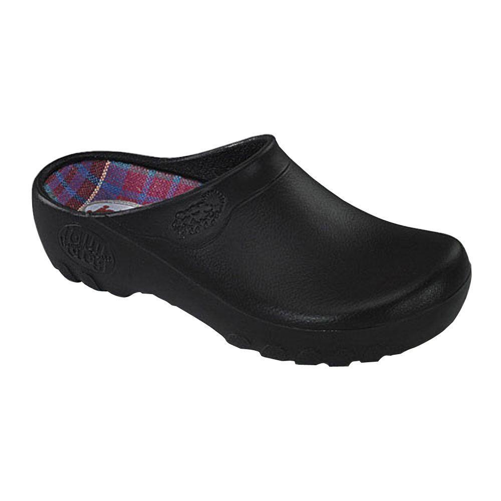 Black Garden Clogs - Size 10-LFC-BLK