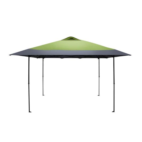 Haven Sports 12 ft. 7 in. x 12 ft. 7 in. Forest Green/Grey Straight Leg Instant Canopy
