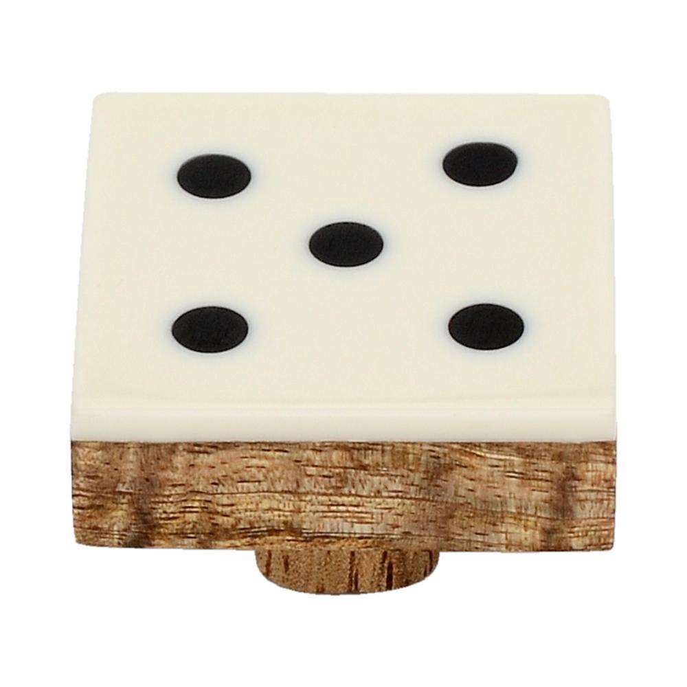 Casino 1-3/7 in. Numero 5 Cabinet Knob