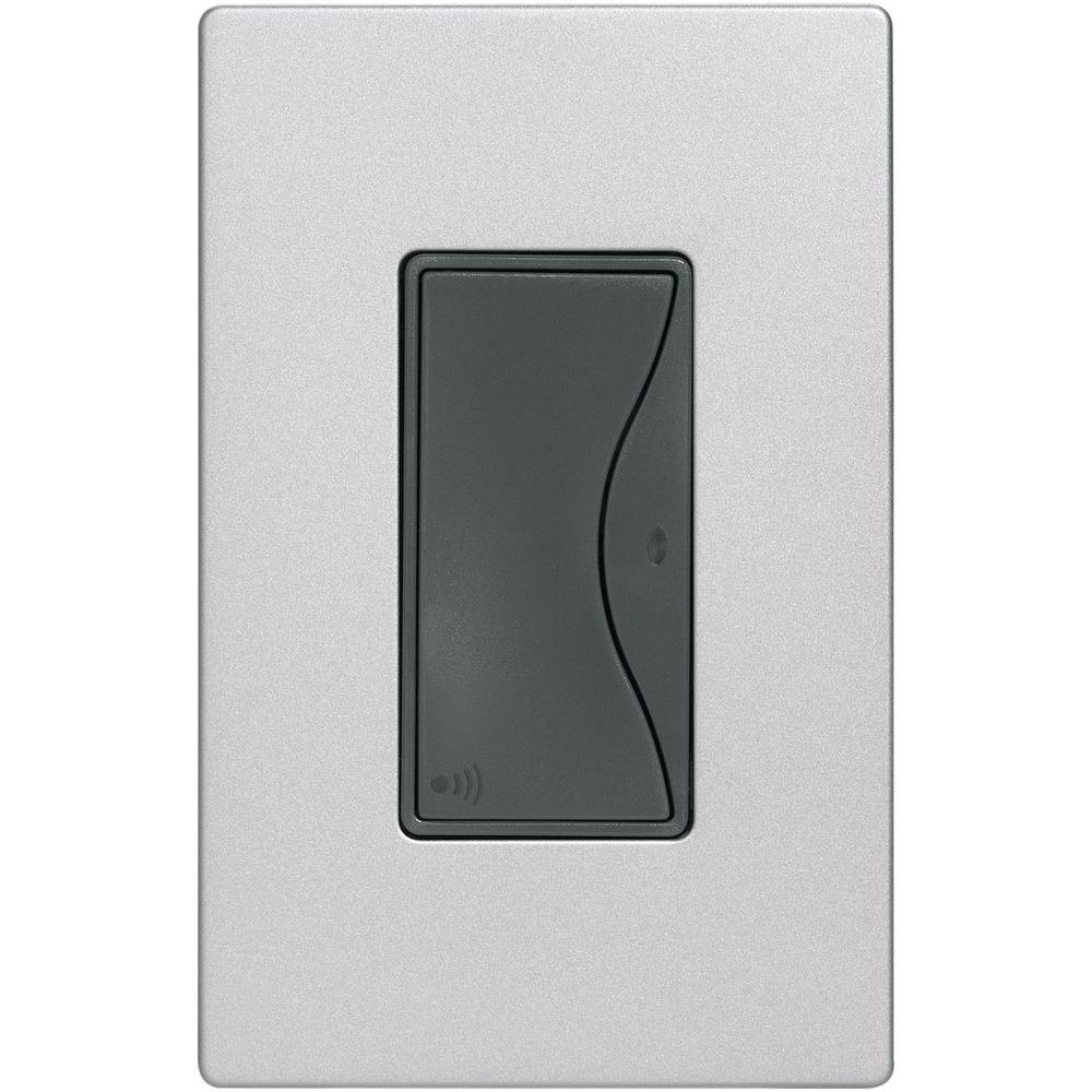 Aspire 15 Amp 120-Volt Single Pole RF Wireless Light Switch, Silver