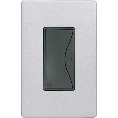 Aspire 15 Amp 120-Volt Single Pole RF Wireless Light Switch, Silver Granite