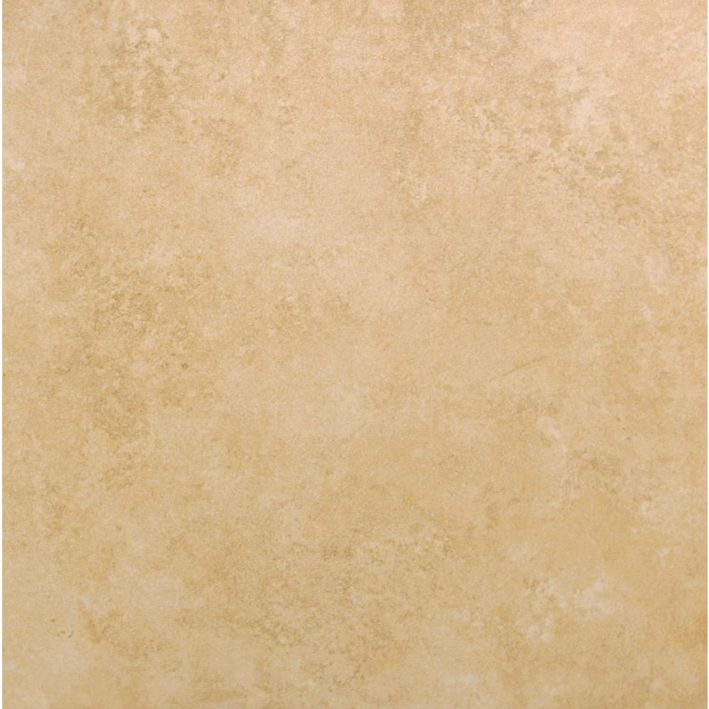 MSI Mojave Sand 20 in. x 20 in. Glazed Ceramic Floor and Wall Tile ...