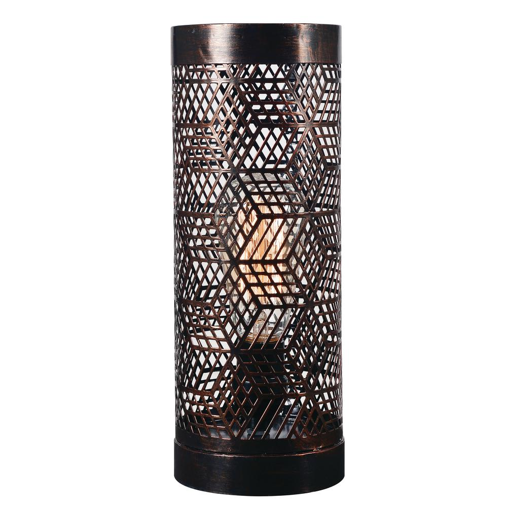 High Quality Copper Bronze Up Light Accent Lamp With Copper Bronze Metal