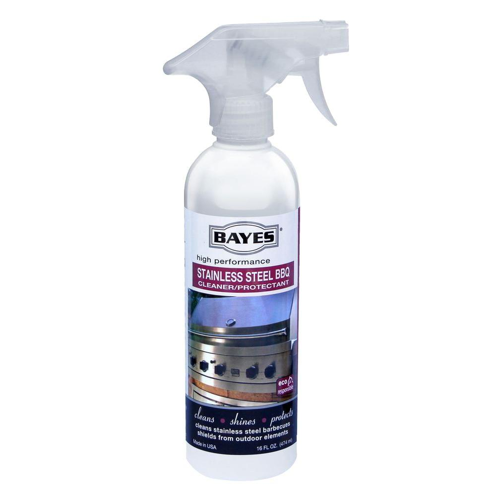 Bayes 16 oz. High Performance Stainless Steel BBQ Cleaner...