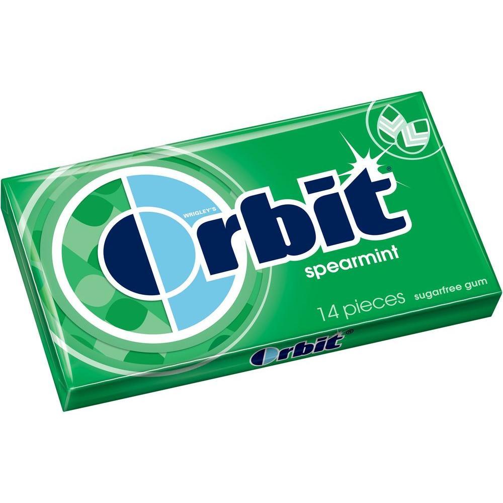 Spearmint Gum (14-Piece)