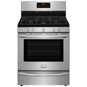 Frigidaire Gallery 5.0 cu. ft. Gas Range with Convection Self-Cleaning Oven in... by Frigidaire Gallery