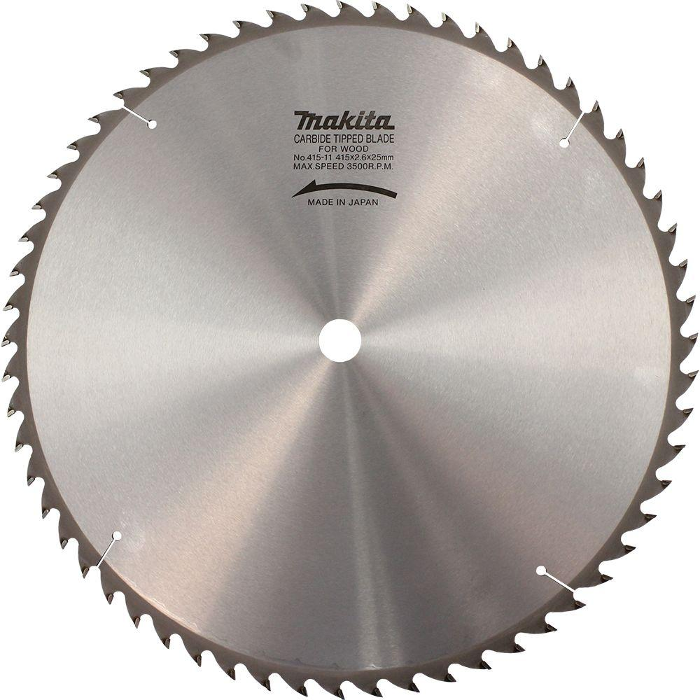 Saw Blade Fan : Makita in teeth beam and timber carbide tipped
