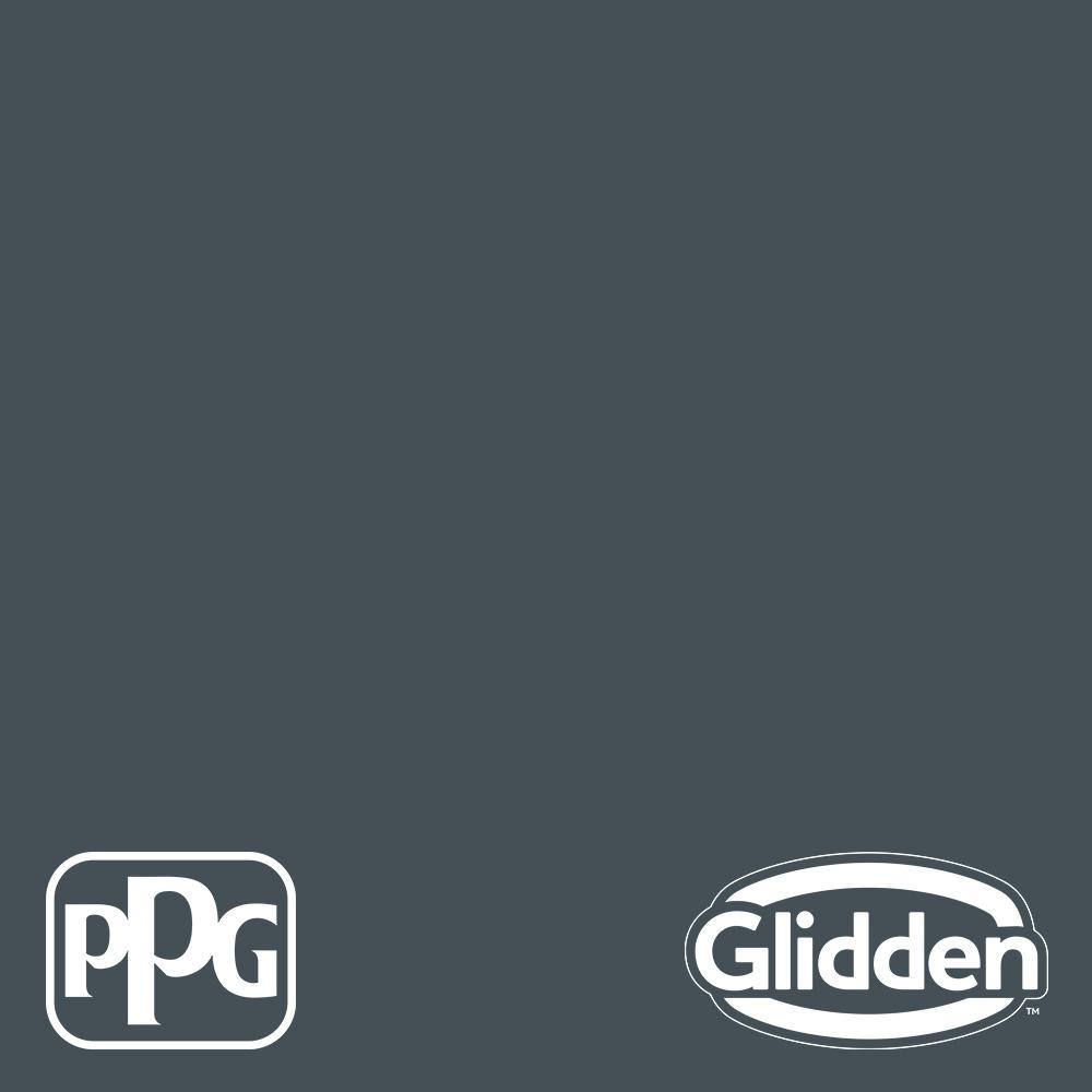 Glidden Essentials 1 gal. PPG1039-7 High Salute Semi-Gloss Exterior Paint