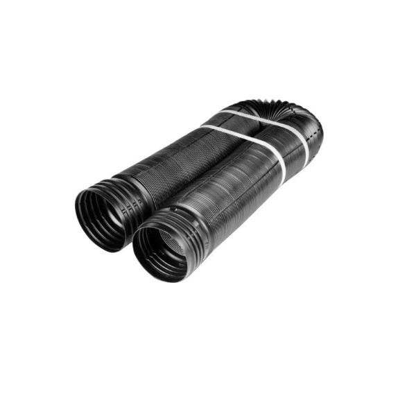 4 in. x 12 ft. Polypropylene Perforated Pipe