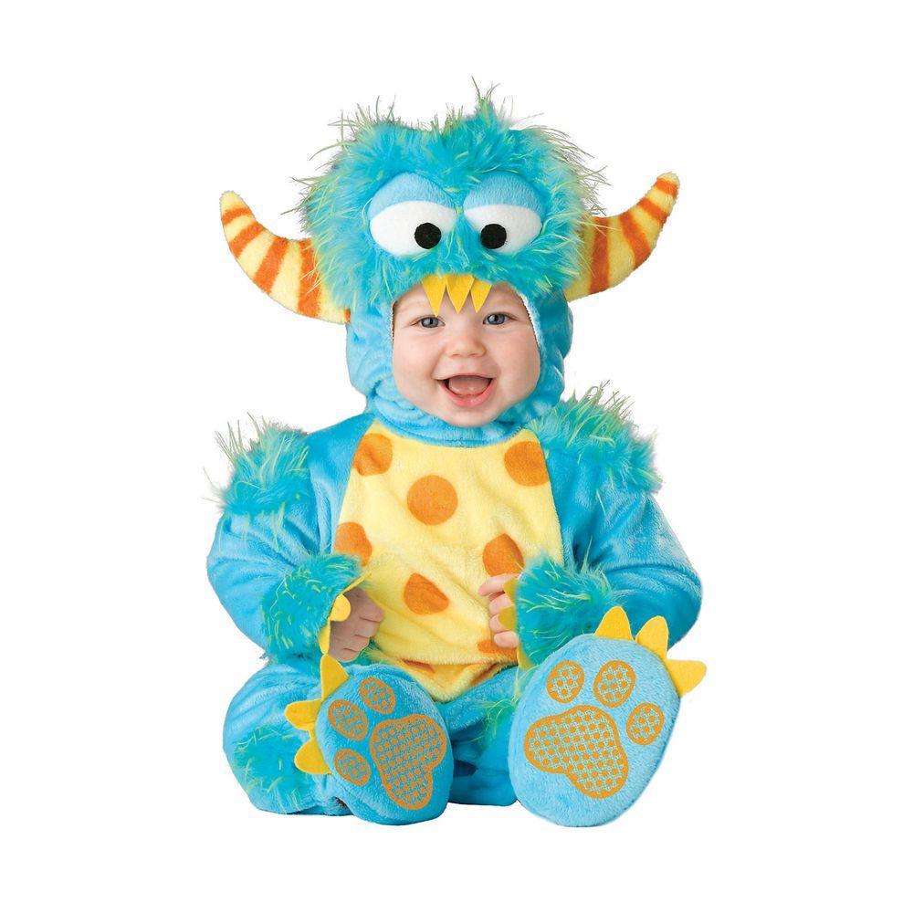 Medium Infant Toddler Lil Monster Costume